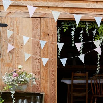 Rustic Country Floral Bunting